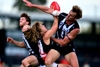 VFL Essendon vs Collingwood Practice Match 15th March 2014